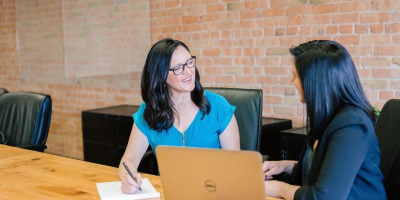 Un entretien dans une entreprise