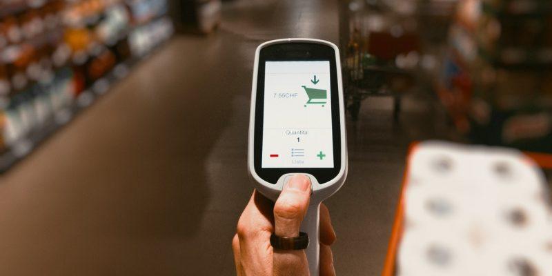 Scanner pour les courses