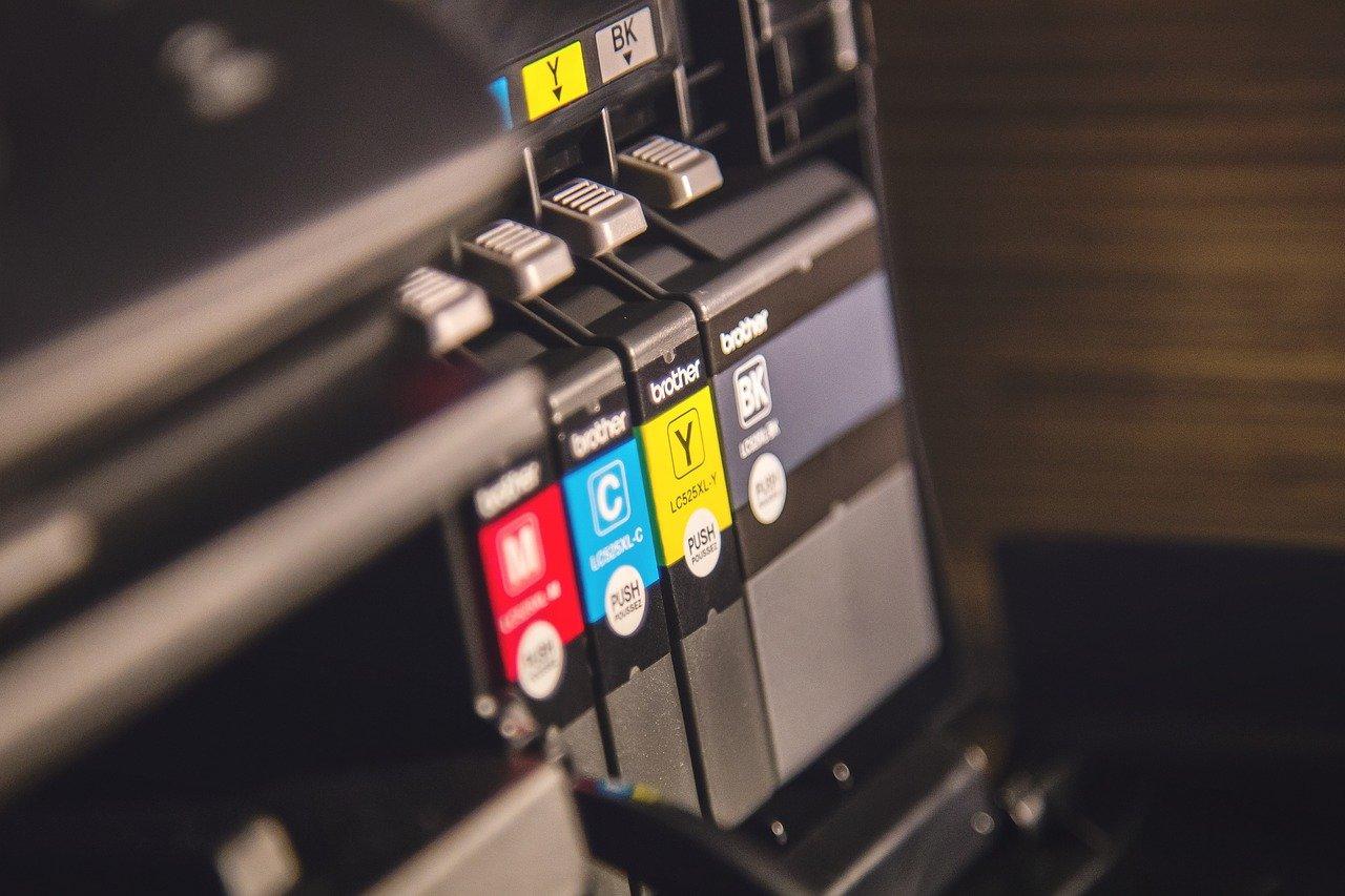 cartouches d'encre pour une imprimante à jet d'encre